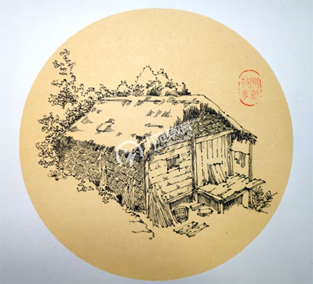 林间小草屋