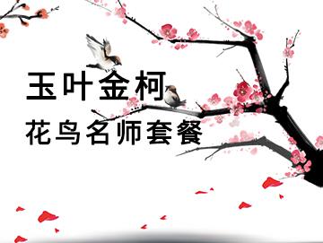 玉叶金柯-花鸟名师套餐